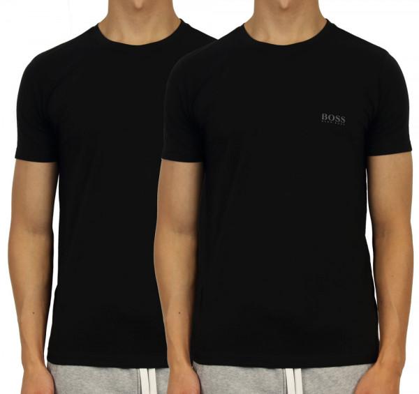 Hugo Boss T-shirt zwart 2pack