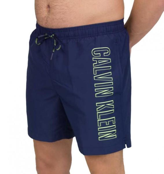 Calvin Klein zwemshort CK logo print blauw