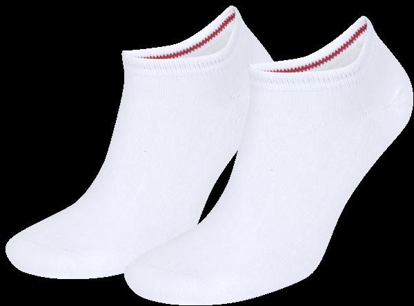 Tommy Hilfiger Sneaker sokken 2-paar wit