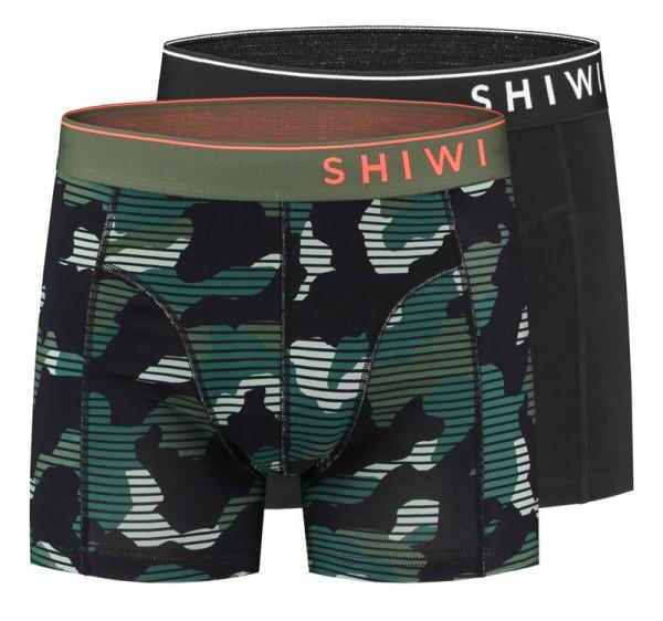 Shiwi boxershort Camouflage 2-pack