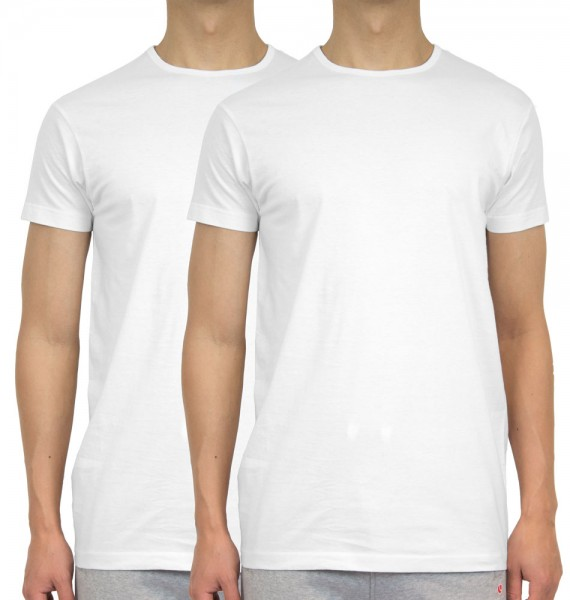 Global5 T-shirt Sam 2-pak extra lang wit