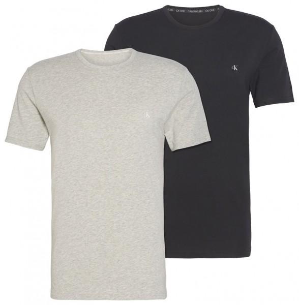 Calvin Klein T-shirt CK One 2-pack grijs-zwart