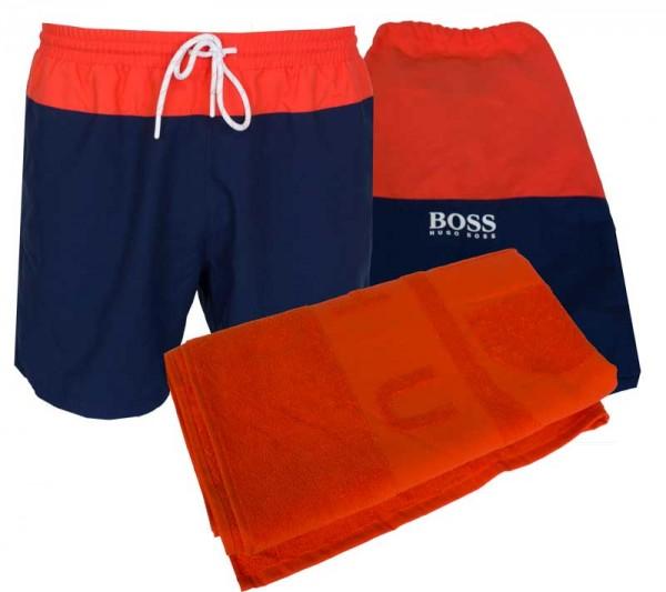 Hugo Boss Beach set zwemshort + badlaken