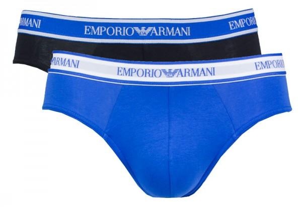 Armani slips EA 2-pack stretch cotton