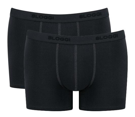 Sloggi Short 24/7 2pak zwart