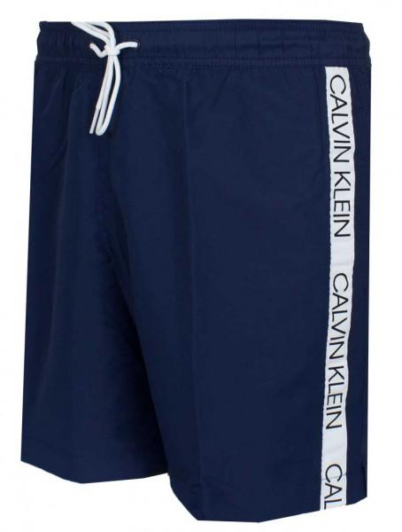 Calvin Klein Zwemshort medium drawstring blauw