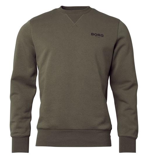 Bjorn Borg sweatshirt groen voorkant