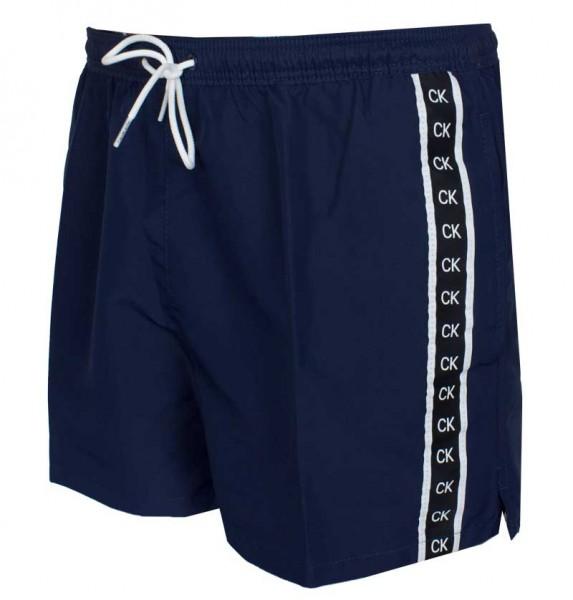 Calvin Klein Zwemshort short drawstring blauw