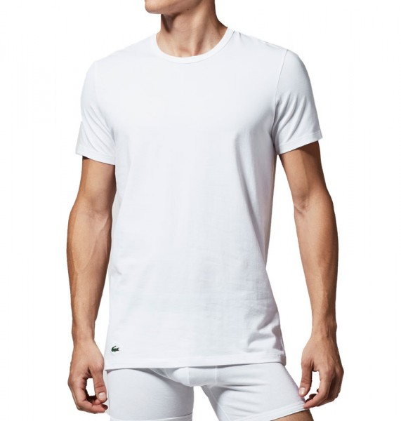 Lacoste T-shirt R-hals stretch 2-pack