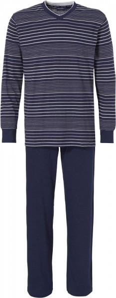 Pastunette Pyjama V-hals gestreept