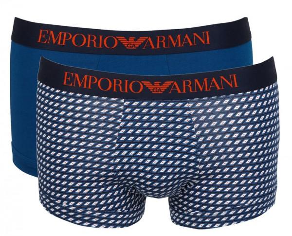 Armani boxershorts met logo band 2-pack