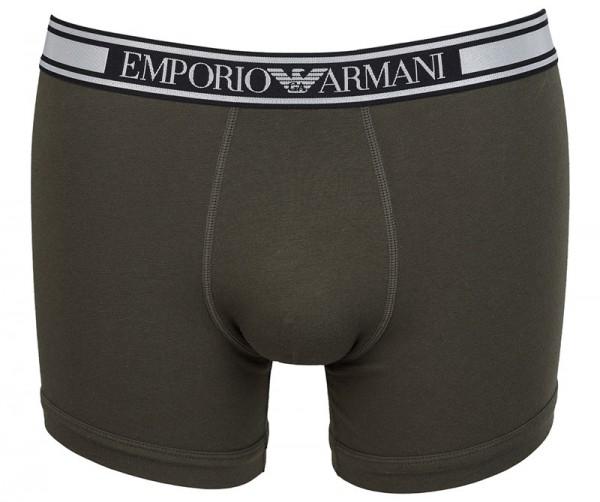 Armani boxershort met GA logoband groen