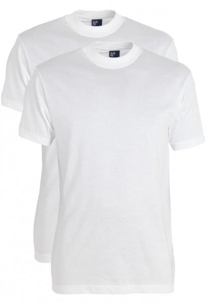 Alan Red T-shirt Virginia 2-pack wit