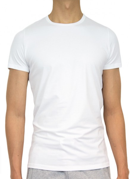 HOM T-shirt Smart Cotton wit
