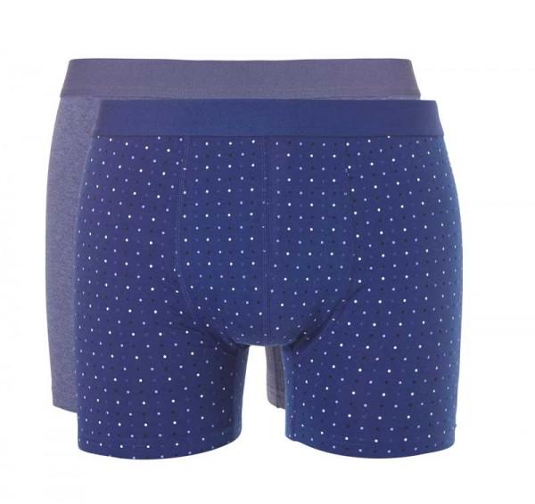 Ten Cate Boxershorts actie 2pack blauw