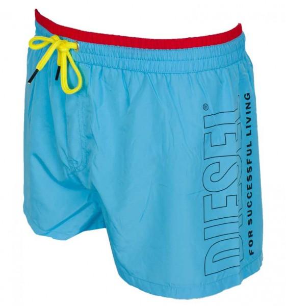 Diesel Zwembroek Sandy logo blauw