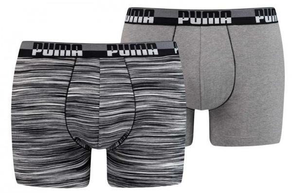 Puma boxershorts 2-pack Space dye