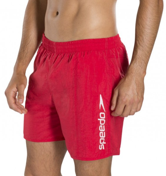 Speedo Zwemshort Scope rood