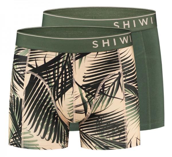 Shiwi boxershort Foliage 2-pack