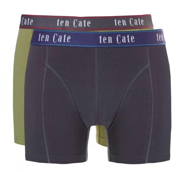 Ten Cate Boxershort Fine 2-pack groen