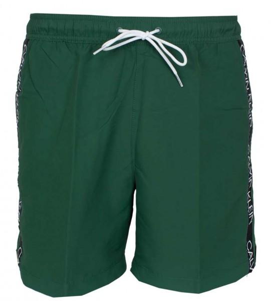 Calvin Klein Medium drawstring zwemshort groen