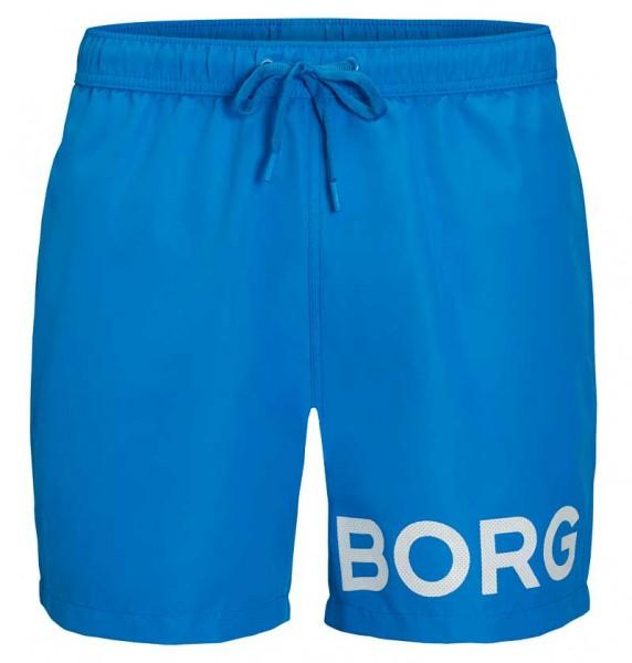 Bjorn Borg Zwemshort Sheldon blauw