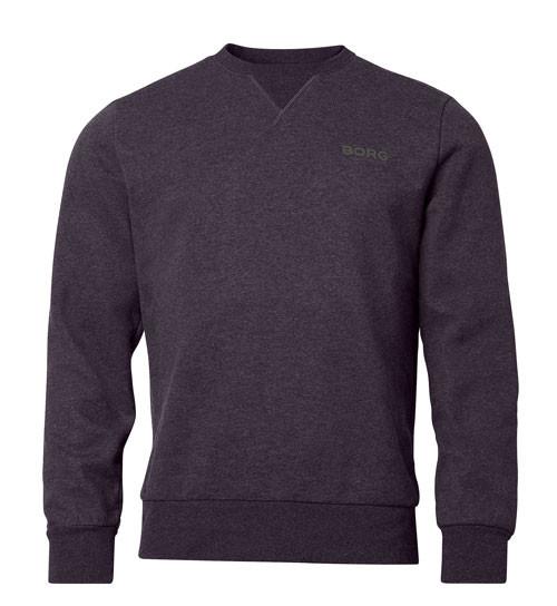 Bjorn Borg sweatshirt antraciet voorkant