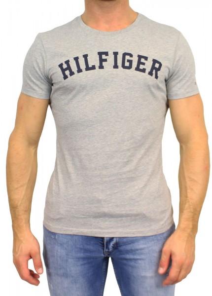 Tommy Hilfiger T-shirt TH print grijs