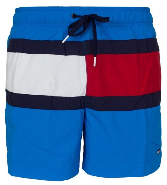 Tommy Hilfiger zwemshort TH block logo blue