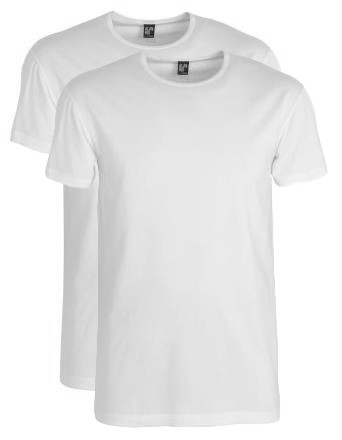 Alan Red Ottawa T-shirt 2-pack stretch