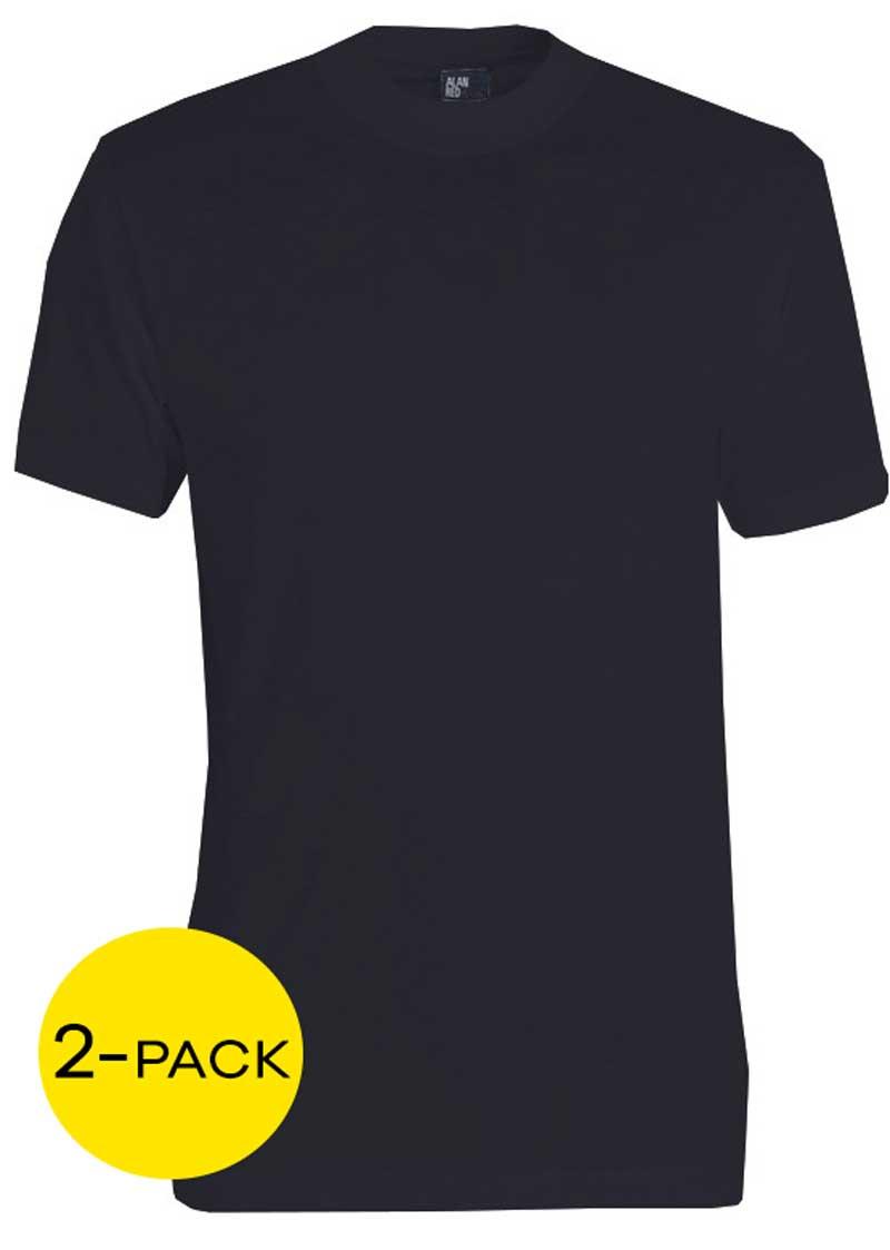 Alan Red T-shirt Virginia 2-pack