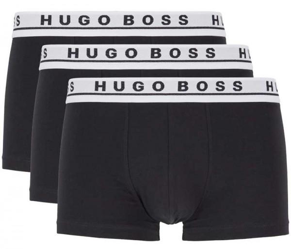Hugo Boss shorts cotton stretch 3-pack zwart