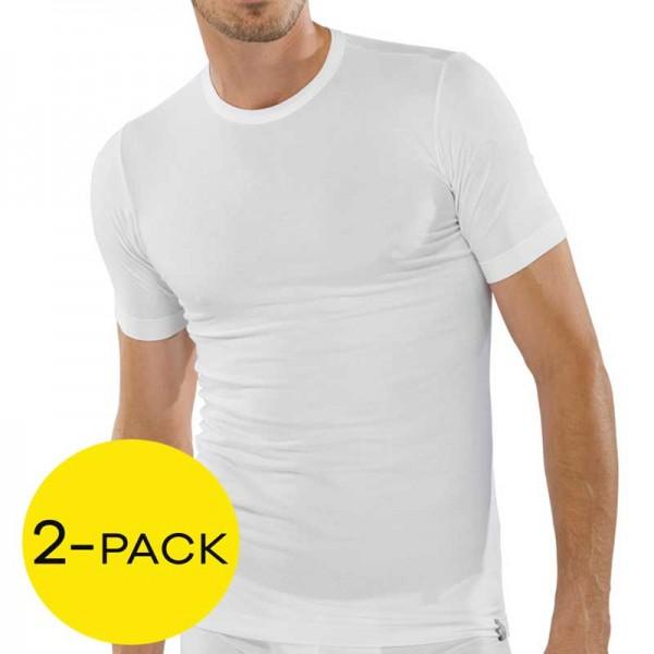 Schiesser T-shirt 95-5 stretch 2-Pak