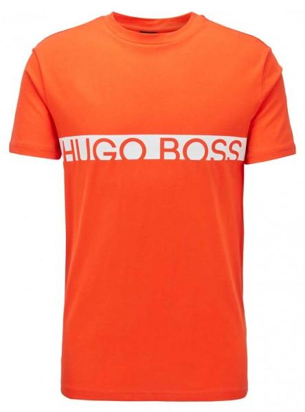 Hugo Boss T-shirt logo oranje