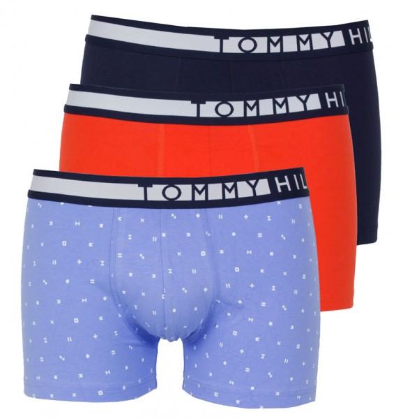 Tommy Hilfiger boxershort 3pack oranje-blauw
