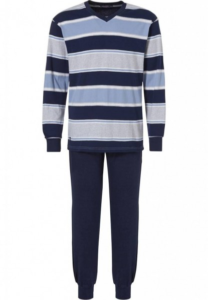 Pastunette Pyjama gestreept met boord