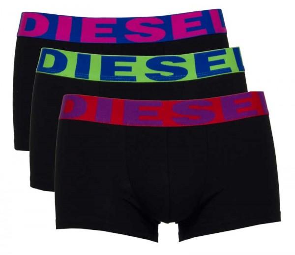 Diesel boxershort Shawn 3-pack zwart