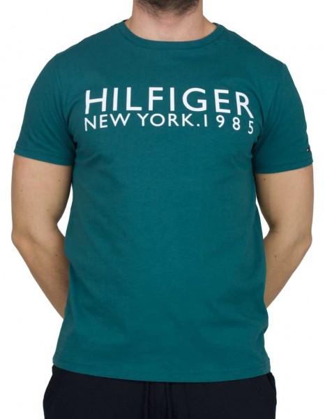 Tommy Hilfiger T-shirt New York 1985 groen