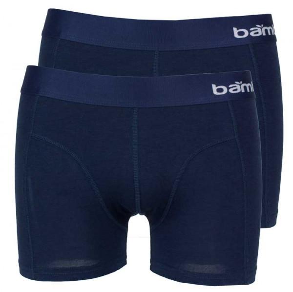 Bamboo boxershorts apollo blauw