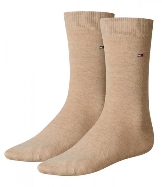 Tommy Hilfiger sokken 2-paar beige