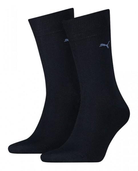 Puma sokken Classic 2-paar blauw
