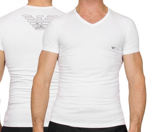 Armani V-shirt Eagle print wit