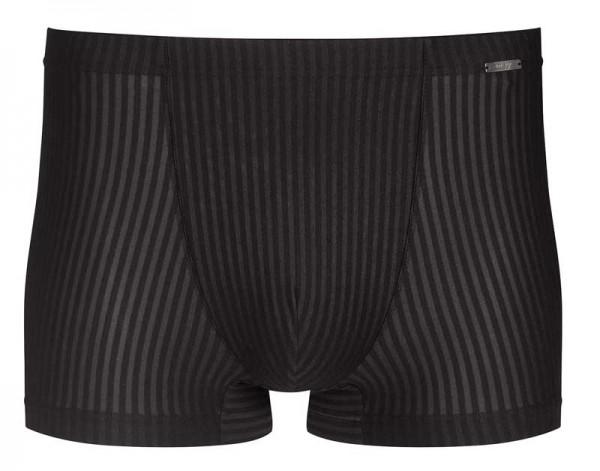 Mey bodywear shorty microfiber gestreept