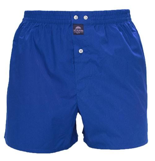 McAlson Boxer met binnenbroek blue voorkant