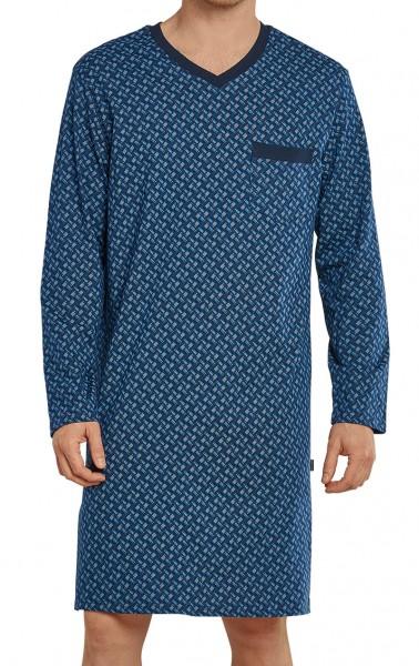 Schiesser nachthemd heren met V-hals