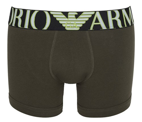 Armani Megalogo boxershort groen