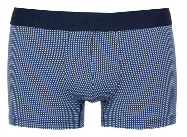 Hom boxershort Benot blauw met print