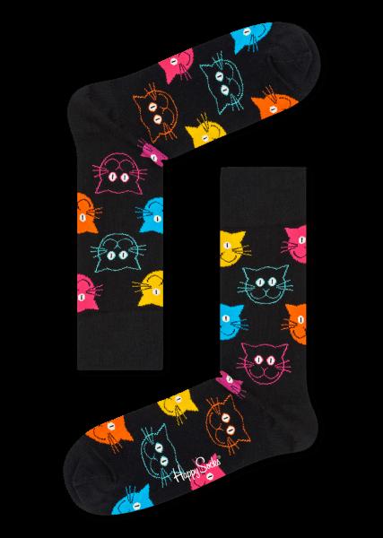 Happy Socks Sokken Cat sock