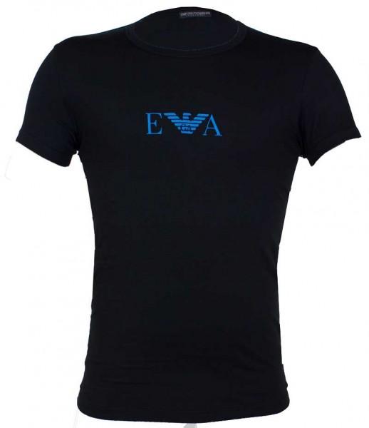 Armani T-shirt EA logo print