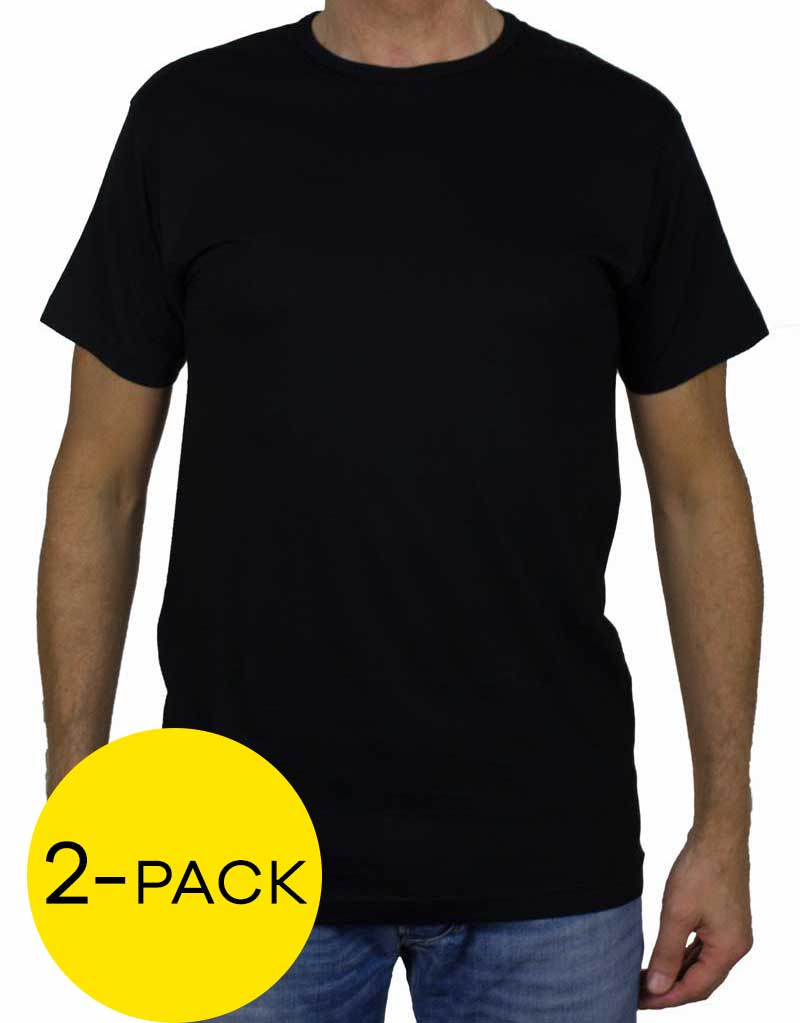 Alan Red T-shirt Derby 2-pack